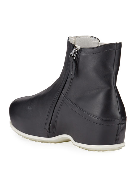 Rosetta Getty x ECCO Contrast Leather Clog Booties