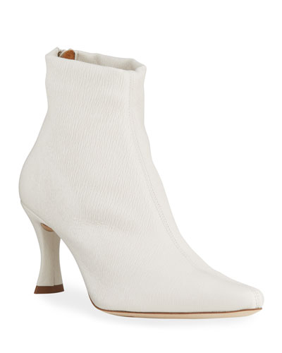 Stevie Stretch Leather Booties