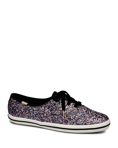 x kate spade champion glitter sneakers