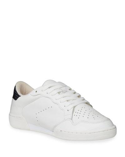 Jerri Leather Low-Top Sneakers