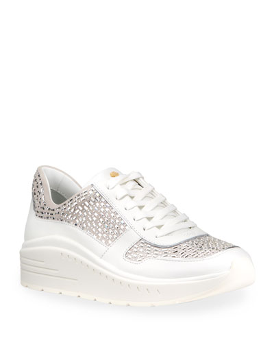 Christa Embellished Fashion Sneakers
