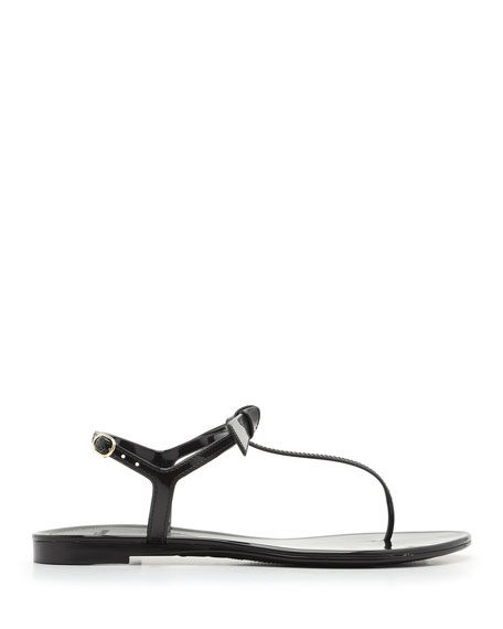 Image 2 of 4: Alexandre Birman Clarita Mixed Jelly Flat Sandals