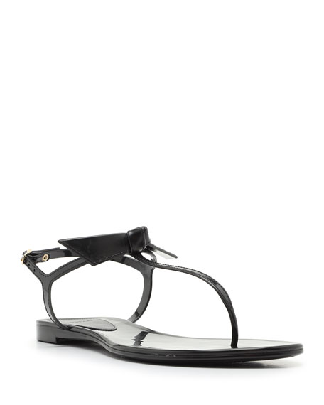 Image 1 of 4: Alexandre Birman Clarita Mixed Jelly Flat Sandals
