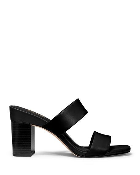 MICHAEL Michael Kors Glenda Two-Band Slide Sandals