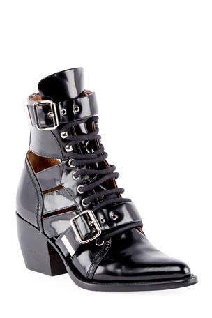 Stella McCartney Black Woven Strappy Rope High Heel Pumps