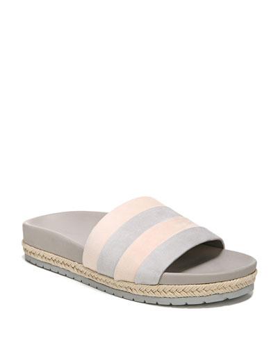 Alisa Suede Pool Sandals