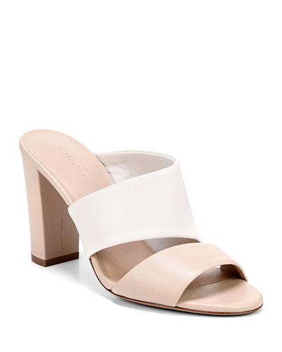 Hiro Palma Leather Mule Sandals