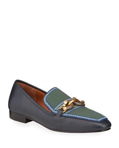 Jessa Bicolor Horsebit Loafers