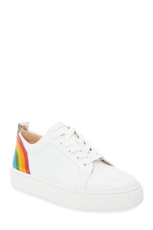 Christian Louboutin Arkenspeed Rainbow Low-Top Sneakers
