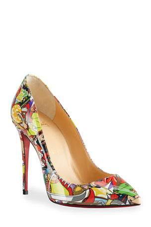 Christian Louboutin Pigalle Follies Printed Stiletto Pumps