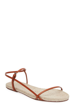 THE ROW Bare Espadrille Sandals
