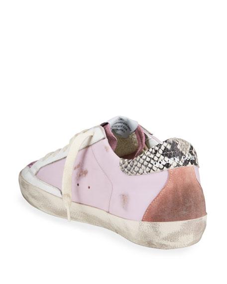 Golden Goose Superstar Glitter Low-Top Sneakers