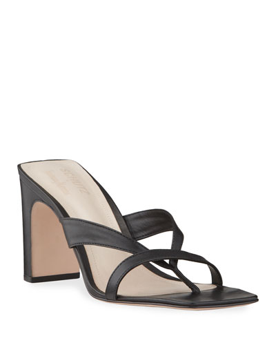 Allile Mid-Heel Thong Sandals