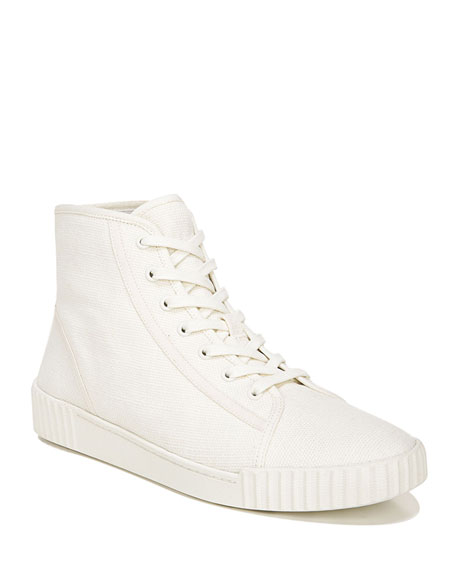 Vince Wolfe Canvas High-Top Sneakers