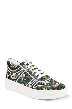 Jimmy Choo Hawaii Floral Sneakers
