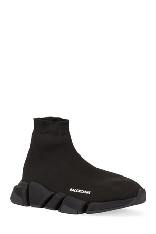 Balenciaga Speed Lt. 20 Cotton Knit Sock Sneakers