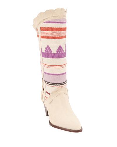 Leesta Topstitch Summer Boots