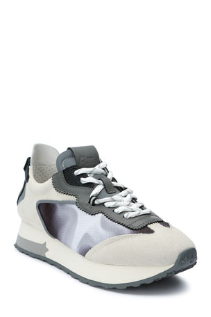 Ash Tiger Colorblock Trainer Sneakers