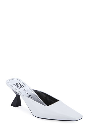 Givenchy Square-Toe Mules