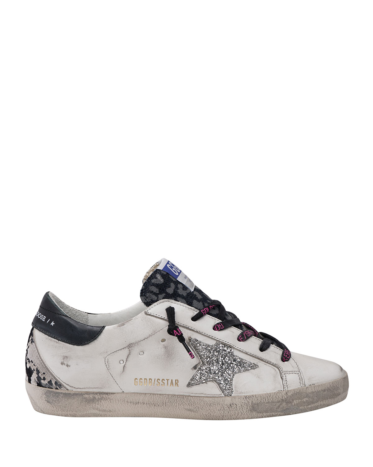 Golden Goose Superstar Mixed Media Skater Sneakers