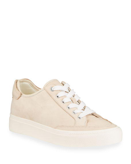 Image 1 of 4: RB Army Nubuck Low-Top Sneakers