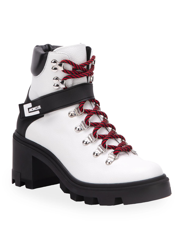 Moncler Carol Heeled Hiking Boots