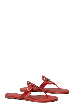 Tory Burch Miller Medallion Thong Flat Sandals