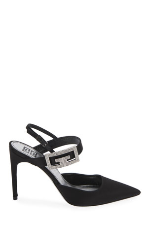 Givenchy Couture 100mm Stiletto Slingback Pumps