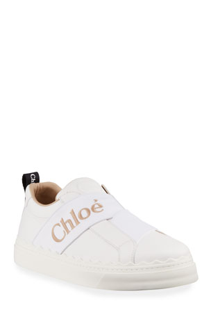 Chloe Lauren Low-Top Logo Sneakers