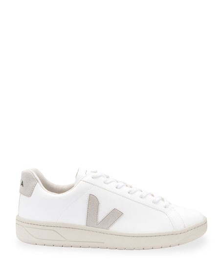 Image 2 of 3: Urca Bicolor Leather Low-Top Sneakers