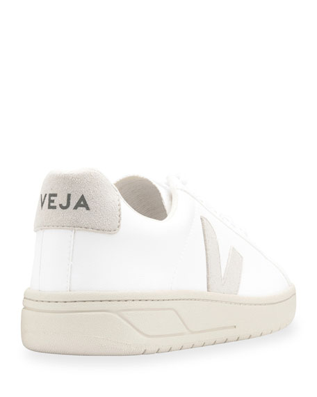 Image 3 of 3: Urca Bicolor Leather Low-Top Sneakers