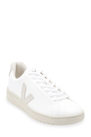 VEJA Urca Bicolor Leather Low-Top Sneakers