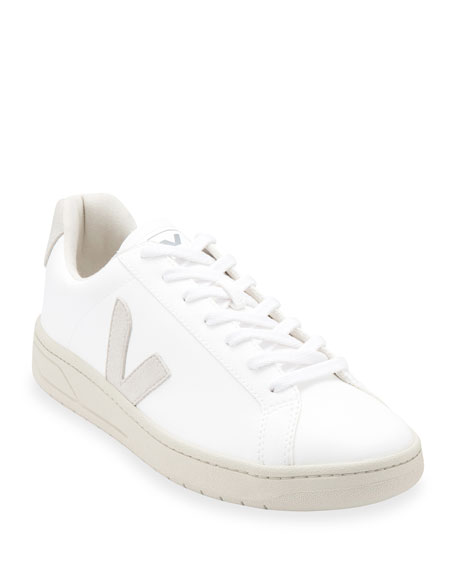 Image 1 of 3: Urca Bicolor Leather Low-Top Sneakers