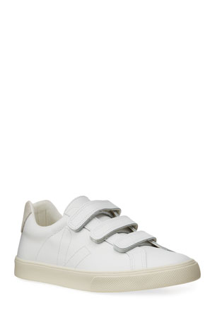 VEJA 3-Lock Leather Low Skater Sneakers