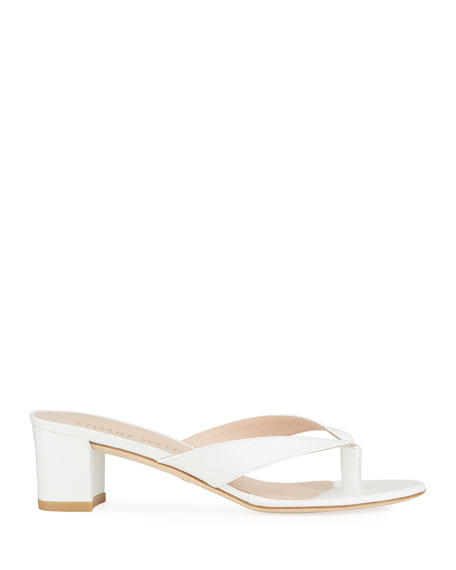 Image 2 of 4: Stuart Weitzman Brigida 50 Thong Sandals