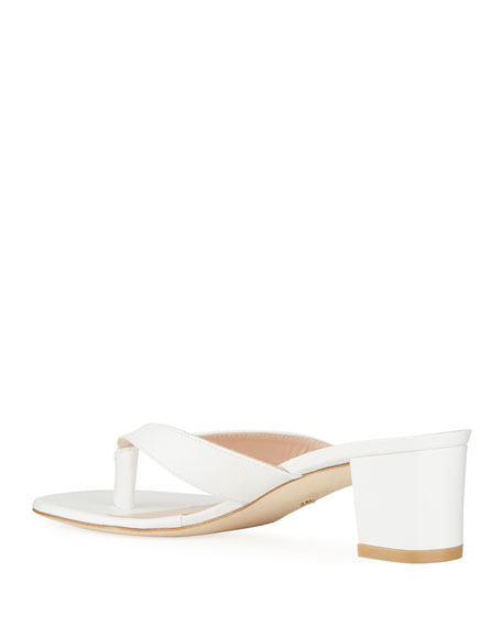 Image 4 of 4: Stuart Weitzman Brigida 50 Thong Sandals