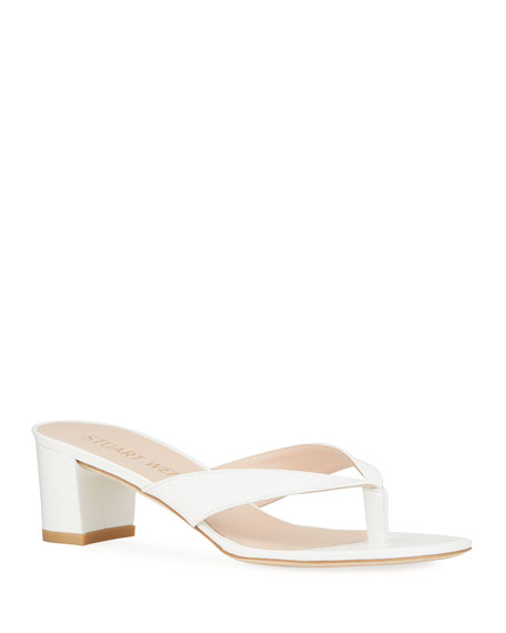 Image 1 of 4: Stuart Weitzman Brigida 50 Thong Sandals