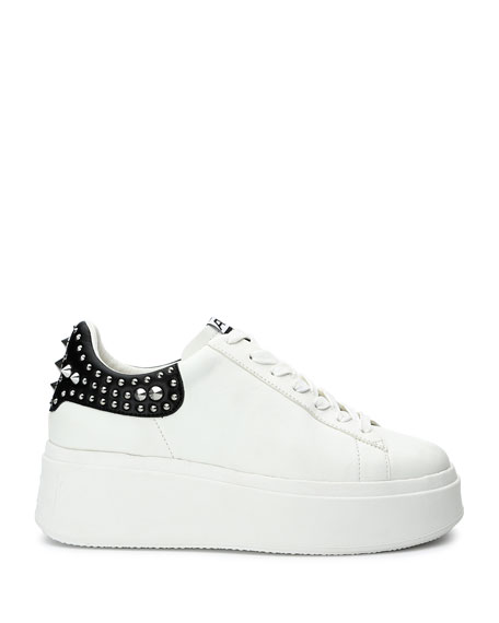 Image 2 of 4: Ash Moby Studded Platform Sneakers