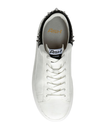 Image 3 of 4: Ash Moby Studded Platform Sneakers