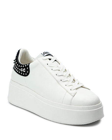 Image 1 of 4: Ash Moby Studded Platform Sneakers