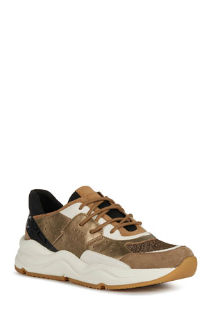 Geox Topazio 9 Colorblock Fashion Sneakers