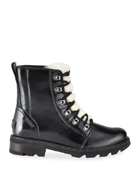 Image 2 of 4: Sorel Lennox Patent Winter Combat Booties