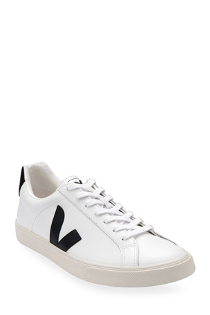 VEJA Esplar Bicolor Leather Low-Top Sneakers