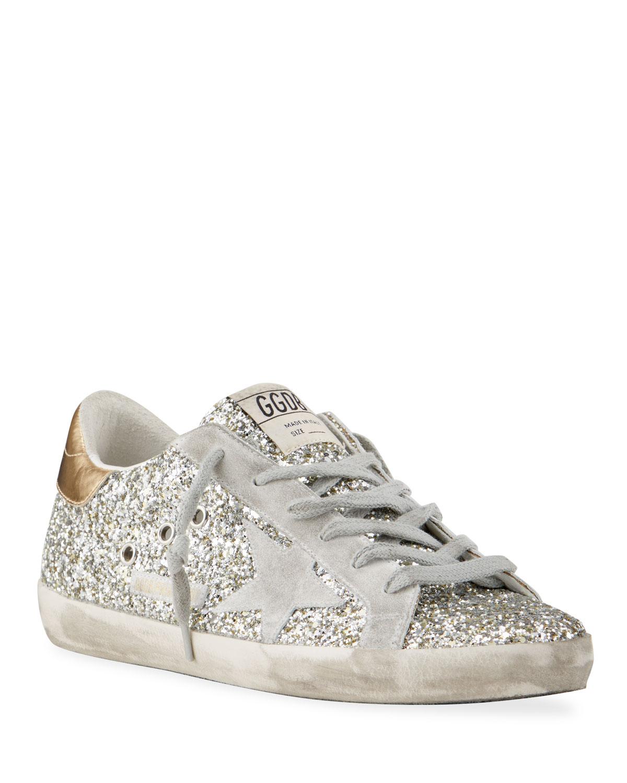 Superstar Glitter Metallic Sneakers