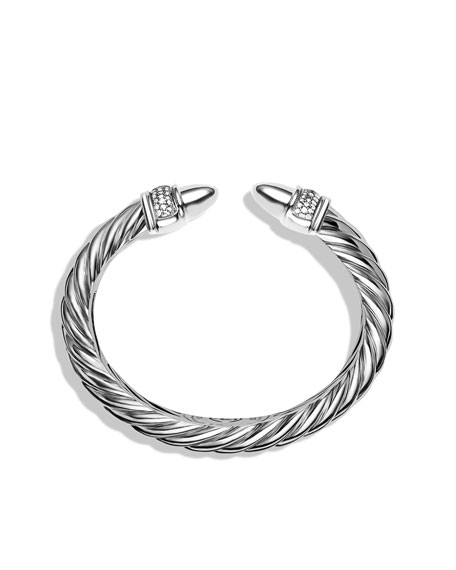 Waverly Cable Bracelet with Diamonds