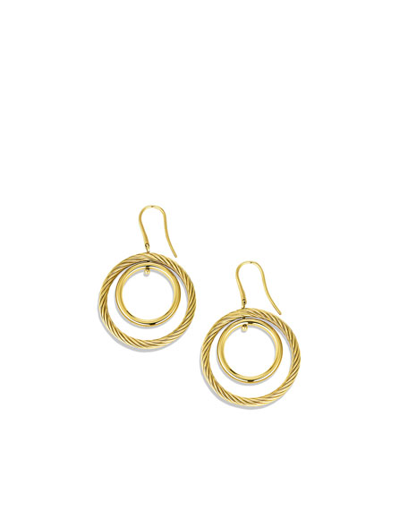 Mobile Spiral Hoop Earrings