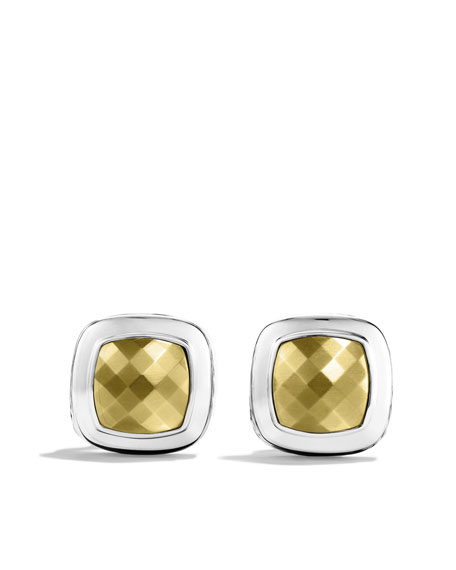 Albion Earrings with Gold Domes