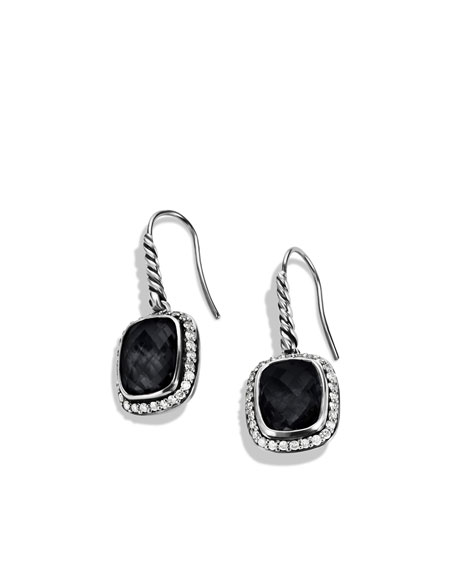 Noblesse Earrings with Black Onyx and Diamonds