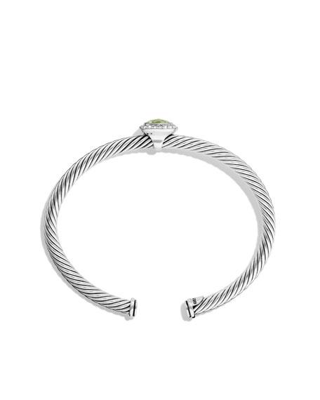 Noblesse Bracelet with Prasiolite and Diamonds