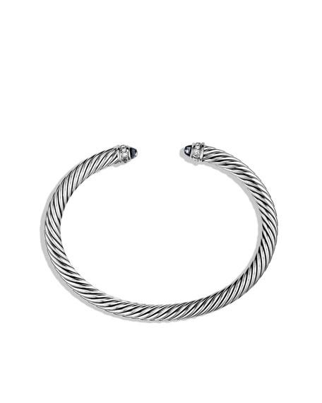 5mm Black Onyx Cable Classics Bracelet